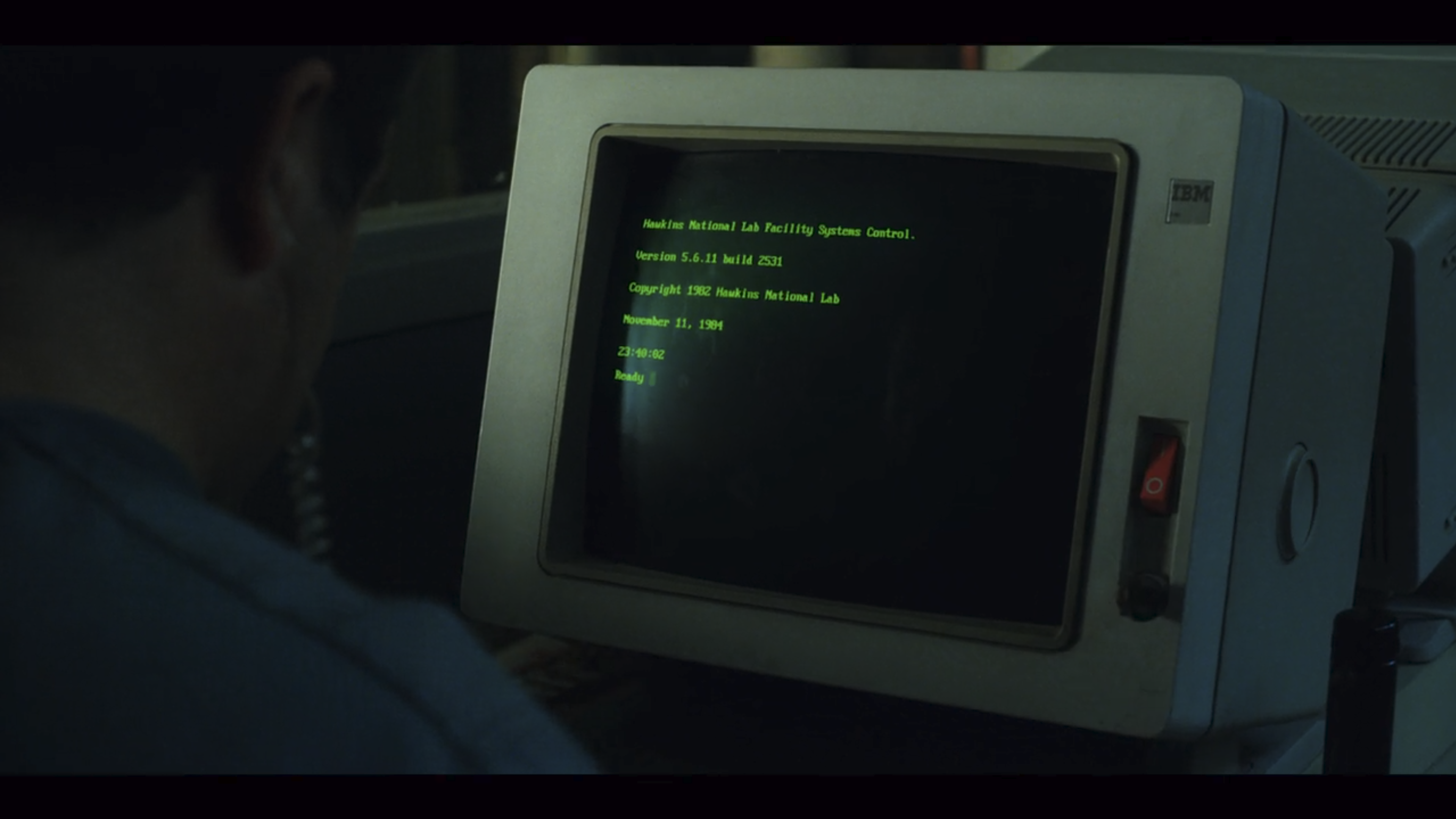Code in Stranger Things 2